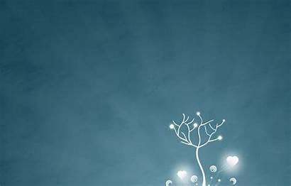 Simple Wallpapers Vida Winter Snow Tree El