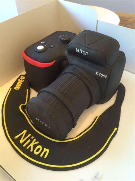 nikon camera cake motivtorten pinterest camera cakes