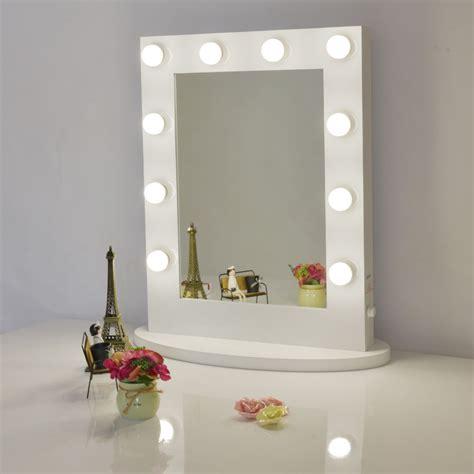 makeup mirror with lights aluminum vanity
