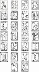 Illuminated Letters Coloring Alphabet Pages Medieval Printable Etsy Poster Letter Books Manuscript Adults Lettering Colouring Drawing Adult Cat Val Launching sketch template