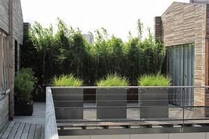 Cacher Vis A Vis Plongeant : cacher le vis a vis une haie de bambous jardin ~ Melissatoandfro.com Idées de Décoration