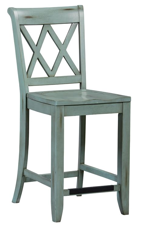 Stool Height by Standard Furniture Vintage Vanilla Counter Height Stool