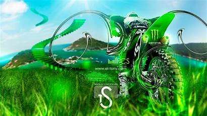 Monster Energy Motocross Fantasy Tony El Moto