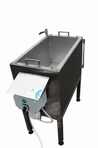 Sp70 Manual Wax Dipping Tank For Poultry