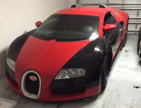 Unlike fake purses and sneakers, these bugatti veyron replicas won't fool anyone. For Sale: Fake Bugatti Veyron - asking too much?   PerformanceDrive