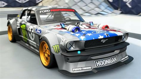 hoonigan mustang twin turbo 1400hp twin turbo mustang the quot hoonicorn quot youtube