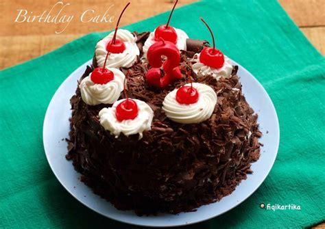 Bagaimana bunda mudah bukan cara membuat resep lava cake coklat kukus white coffe ini? Resep Birthday Cake (Cake Coklat Kukus) oleh fiqikartika - Cookpad