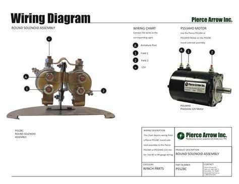 arrow winch diagrams