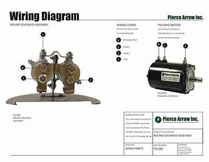 Pierce Arrow Winch Diagrams