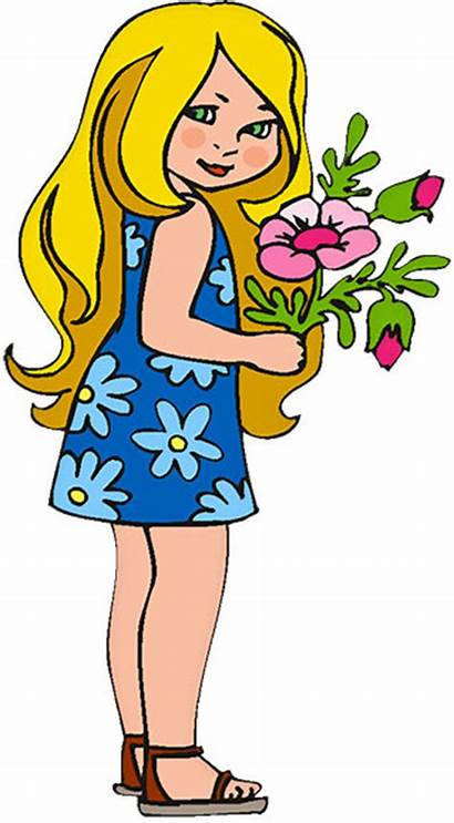 Clipart Flowers Flower Clip Animated Young Gifs