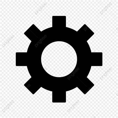 Cog Icon Wheel Symbol Zahnrad Vektor Settings