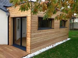 17 best ideas about extension ossature bois on pinterest With delightful maison bois toit plat 9 extensions nord maison bois nord