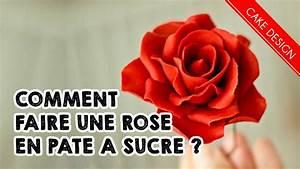 Comment Faire Secher Une Rose : comment faire une rose en p te a sucre sugarpaste ~ Melissatoandfro.com Idées de Décoration