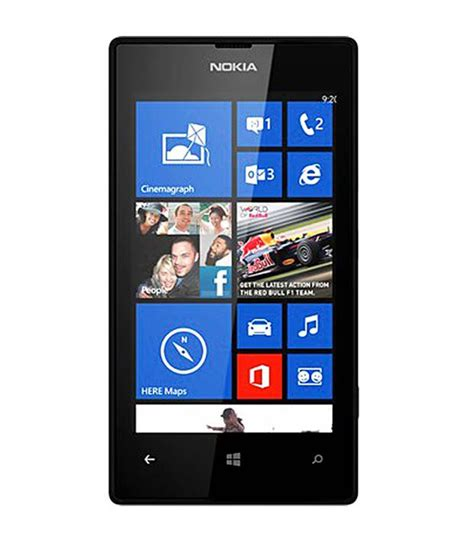 nokia lumia 520 8gb black mobile phones at low prices snapdeal india