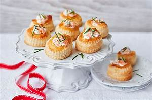 Salmon Vol Au Vents Christmas Party Tesco Real Food