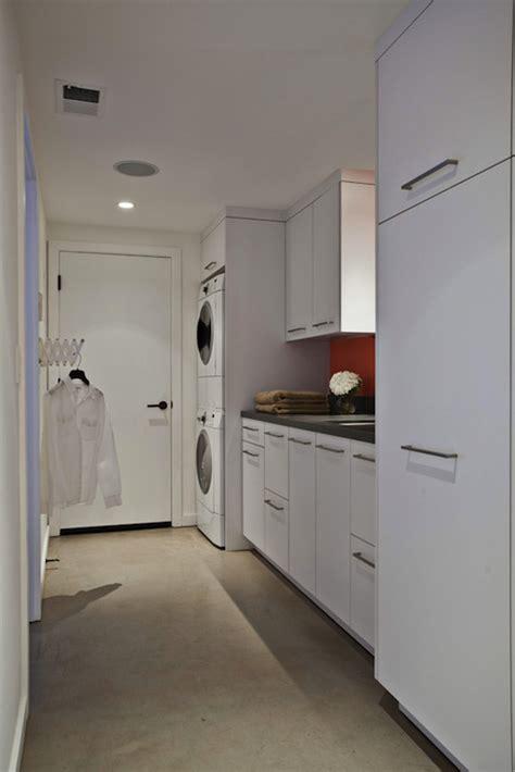 Narrow Laundry Room Design Ideas