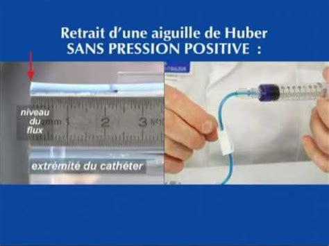 chambre implantable pression positive avi