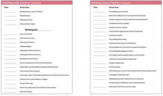 wedding planning creating a timeline for wedding planning