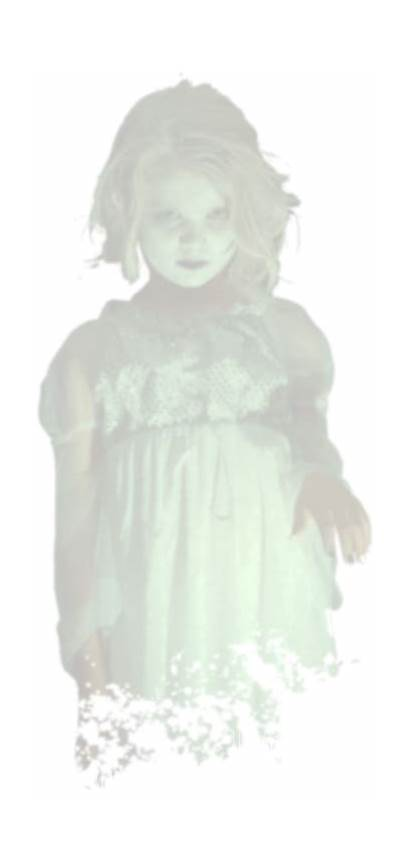 Ghost Scary Transparent Haunted Paranormal Spooky Investigation