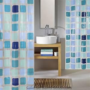 rideau de douche design sonny rideau sans pvc With porte d entrée pvc avec robinet mural lavabo salle de bain