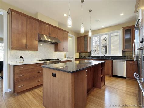 Light Wood Floors And Kitchen Cabinets Home Depot Kitchen