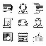 Truck Icons Shipping Icon Delivery Distribution Vector