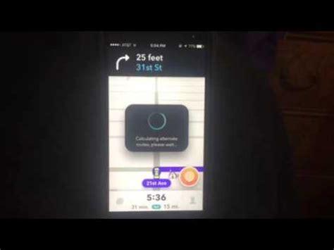 how to use waze on iphone waze app iphone tutorial