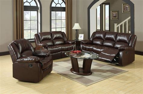 Winslow Reclining Sofa Cm6556 In Bonded Leather Match W/options