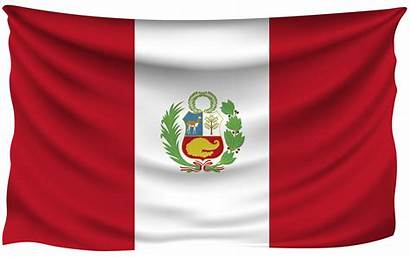 Peru Flag Wrinkled Flags Peruvian National Wallpapers