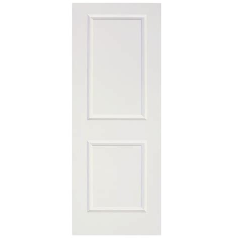 Depot 2 Panel Interior Doors by Calhome 36 In X 80 In White Primed Mdf Raised 2 Panel