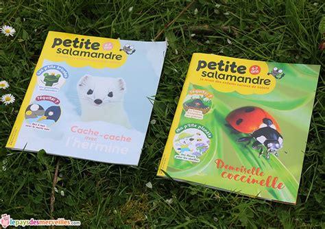 salamandre cuisine particulier la revue des enfants curieux de nature salamandre