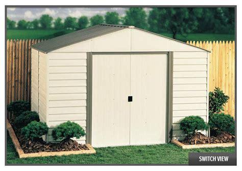 10 x 12 shed kit arrow sheds 10x12 vinyl milford storage shed kit vinyl