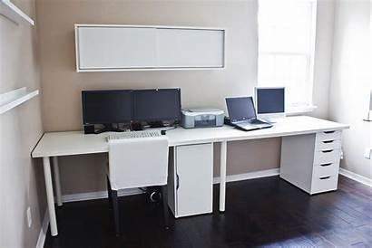 Ikea Desk Linnmon Setup Alex Computer Clean