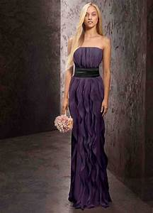 Vera Wang Purple Bridesmaid DressesWedWebTalks | WedWebTalks