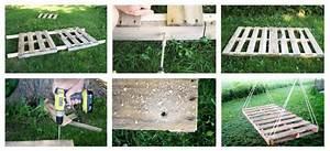 Schwebebett Selber Bauen : diy heute bauen wir ein schwingendes bett aus einer palette mehr ideen findet ihr im gro en ~ Indierocktalk.com Haus und Dekorationen