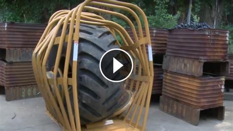 great explosion   biggest single piece tire