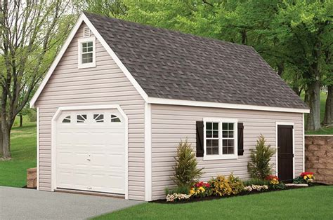 2 Story Garage Packages by Backyard Amish Sheds For Sale Wood Vinyl Nj