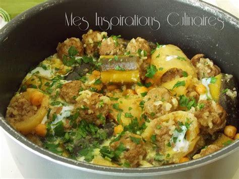 cuisine algerie dolma courgettes pomme de terre le cuisine de samar