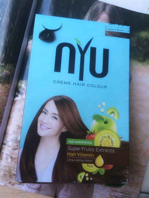 Ibu Menyusui Mewarnai Rambut Honeysuckle Review Nyu Creme Hair Colour