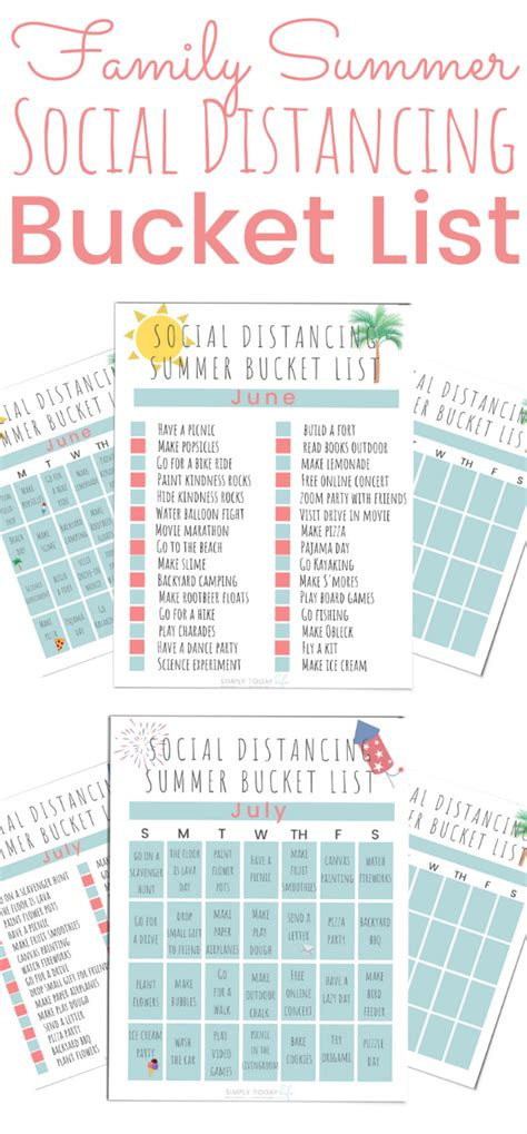 Social Distancing Summer Bucket List For 2020 Simply