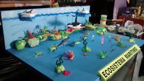 maquetas de ecosistemas marinos buscar  google  grade ecosistema marino maquetas