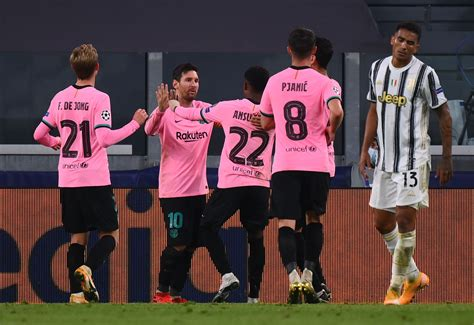 Lionel Messi Gets 9 | Barcelona Players Rated In Dominant ...