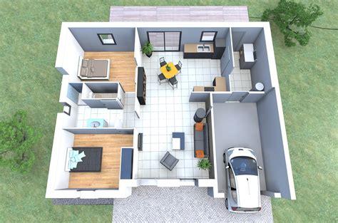 Plan Maison 2 Chambres - maison 2 chambres top maison