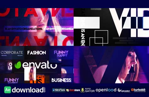 after effects templates free download intro video logo intro free download videohive template free after