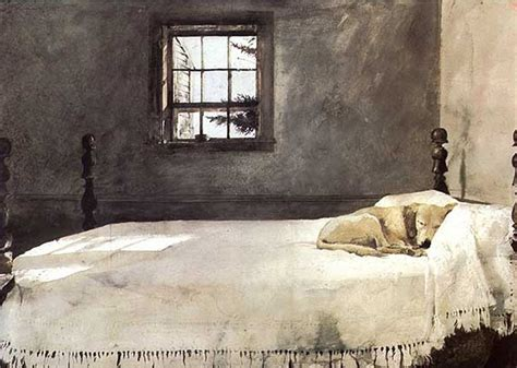 Andrew Wyeth Master Bedroom by Andrew Wyeth Master Bedroom 1965 Museum