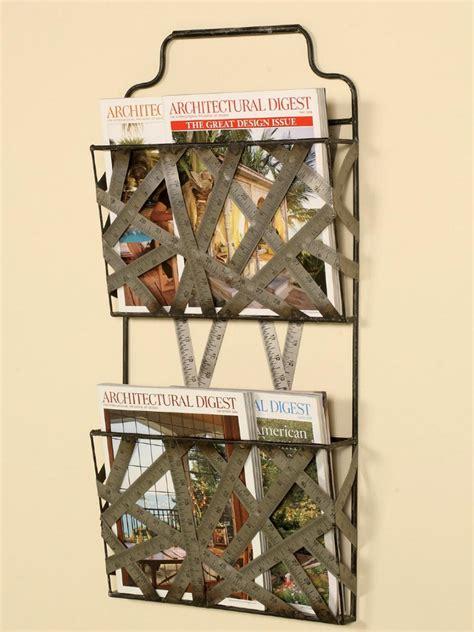 magazine  book storage ideas diy