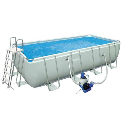 piscine tubulaire intex 975 x 488 x 132 cm rectangulaire