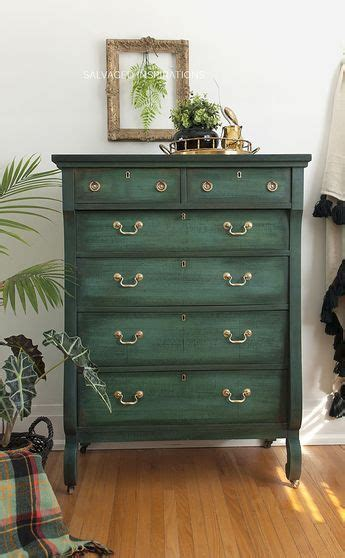layering chalk paint painting ikea furniture green