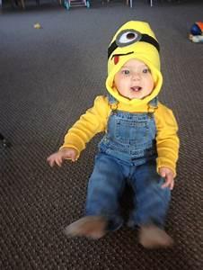 Minion Kostüm Baby : minion costume for infant boy things i 39 ve made from my pins pinterest first halloween ~ Frokenaadalensverden.com Haus und Dekorationen