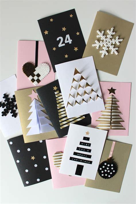 Carte De Noel Diy Carte De Vœux Pour No 235 L 55 Id 233 Es 224 Fabriquer 224 La Maison